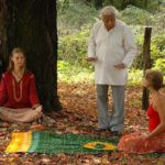 Kumar Pallana teaches meditation.