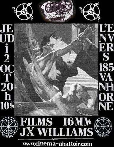 Movie poster featuring a witch trial