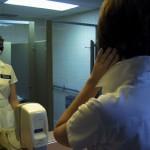 Melodie Sisk as a nurse