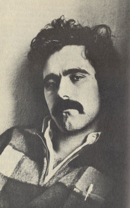Portrait of filmmaker Ron Rice