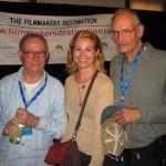 Buck Henry, Jennifer M. Kroot and George Kuchar pose for a portrait