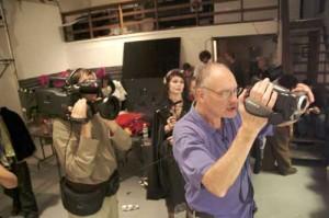 George Kuchar directs a scene