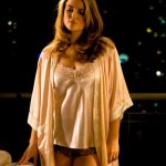 Beautiful woman in sleeping clothes