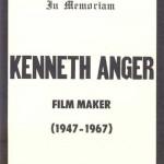 Fake obituary for Kenneth Anger