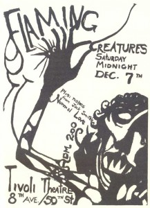 Movie poster for Flaming Creatures