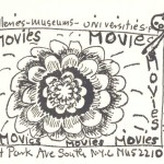 Movie advertisement for the Film-makers' Cooperative