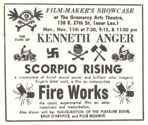 Movie poster for Scorpio Rising