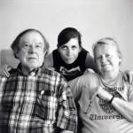 Alan, Jeanne and Jenny Abel