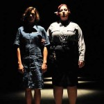 Female Convict #1031 (Margaret Anne Florence) and The Night Guard (Ashlie Atkinson)