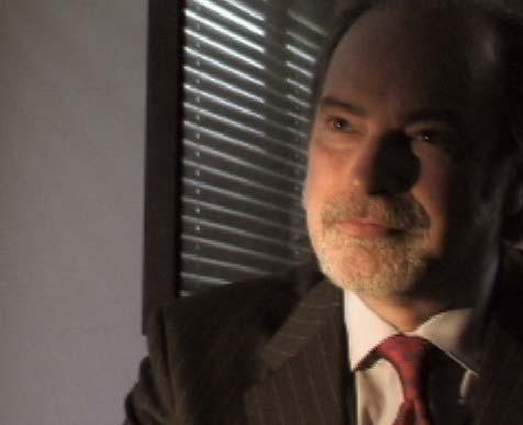 Lawyer wearing a tie