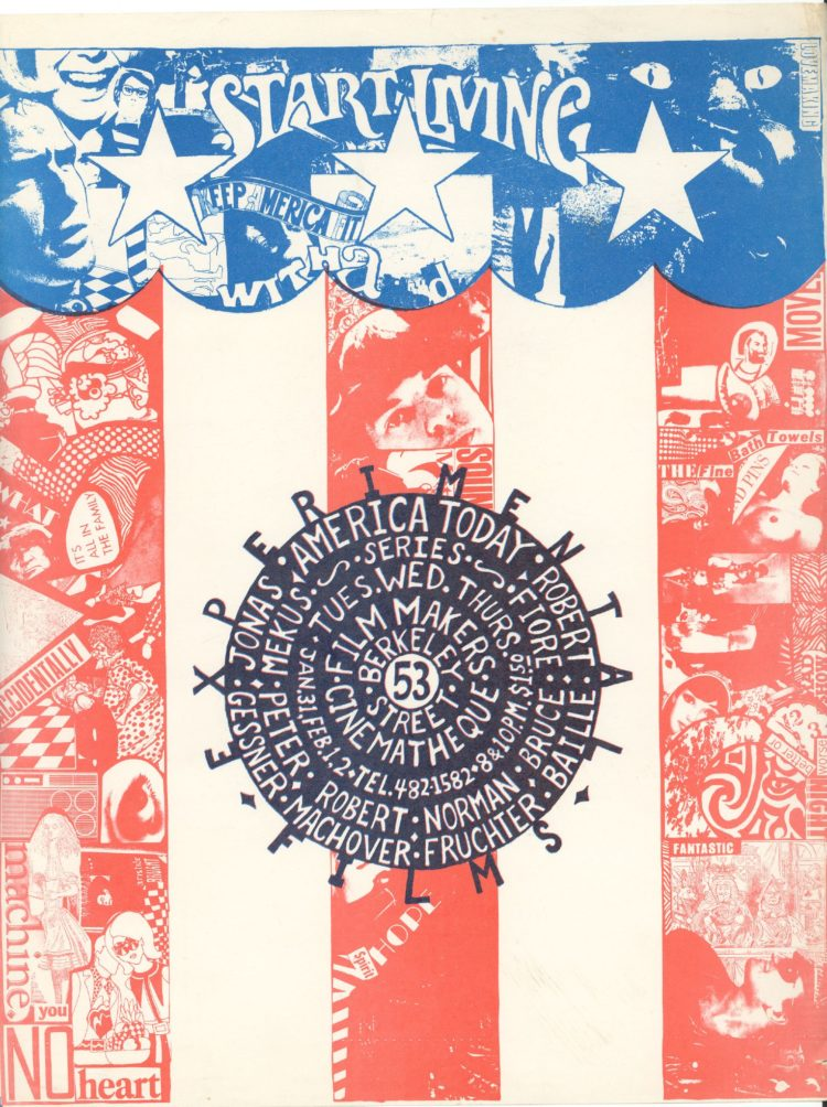Poster for the America Today screening