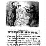 Victorian era illustration accompanying a newspaper article