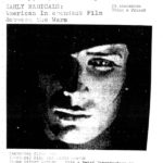 Poster promoting a screening of films by Jay Leyda, Mary Ellen Bute and more