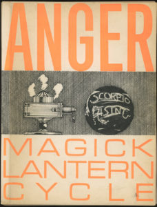 Cover of Kenneth Anger's Magick Lantern Cycle 1966 screening