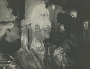 Film still from Inauguration of the Pleasure Dome