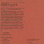 Program page two for Kenneth Anger's 1966 Magick Lantern Cycle screening
