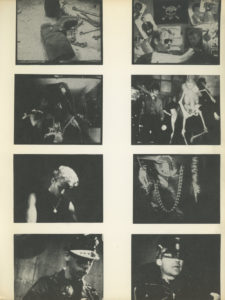 Film stills from Kenneth Anger's Scorpio Rising