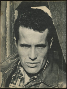 Portrait of Kenneth Anger taken by Charles Kessler