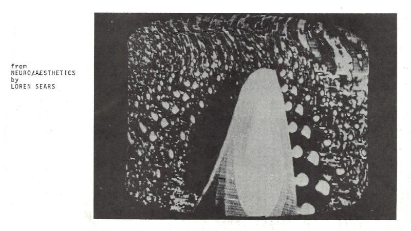 Film still from Neuro/Aesthetics by Loren Sears