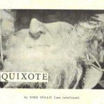 Canyon Cinema: Quixote by Bruce Baillie
