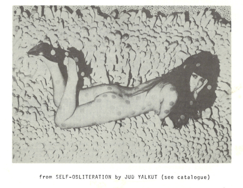 Film still from Self-Obliteration by Jud Yalkut