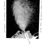 Film flyer of a man spraying water out of his mouth