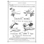 Film flyer featuring diagrams of how to wrap an ankle and a wrist