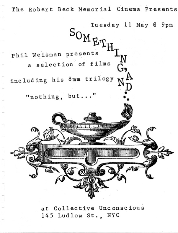 Film flyer featuring a magic genie lantern