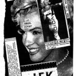 Film flyer featuring Marilyn Monroe