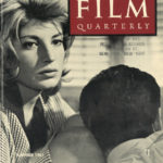 Front cover to Film Quarterly, Summer 1961, vol xiv no 4 featuring Monica Vitti