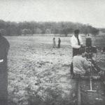 Jonas Mekas on the set of Guns of the Trees