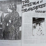 Page one of the Cinema of Transgression Manifesto as it was printed in the Underground Film Bulletin