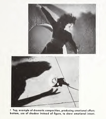 Stills from the avant-garde film Meshes of the Afternoon showcasing the film's visual style