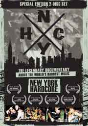 Poster for documentary N.Y.H.C., directed by Frank Pavich